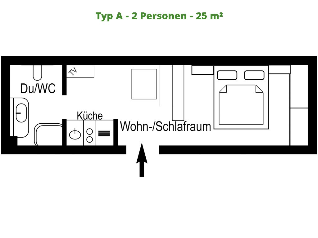 Appartement – A – 25m²