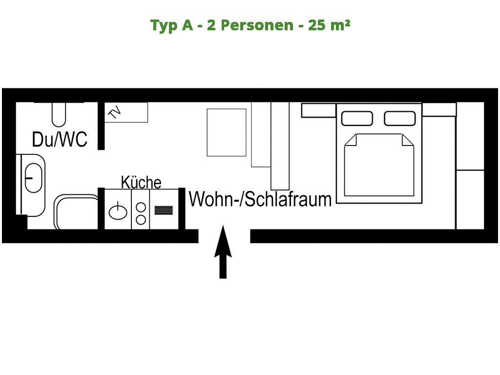 Apartment – A – 25m²